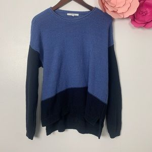 Alfred Sung sweater Large blue